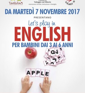 let's play in english novembre 2017